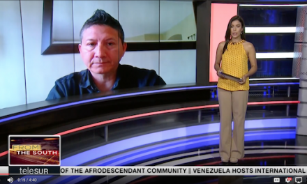 2018-05-10 Interview with Raul Burbano of Common Frontiers on the Venezuela Presidential Elections.