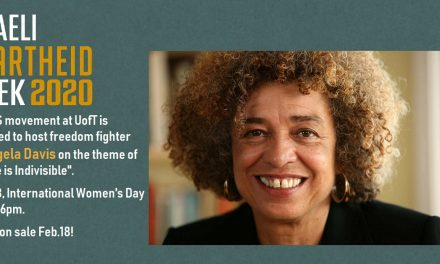 Dr. Angela Davis, Justice Is Indivisible (keynote address for International Women's Day)