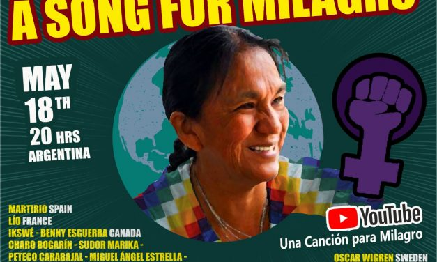 Join the international signature campaign for Milagro Sala: There is no democracy with Political prisoners